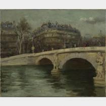Marcel DYF (1899-1985) - Paris La Seine - Huile sur toile