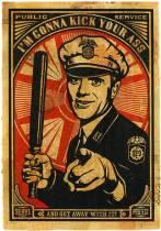 "Shepard Fairey, un ""street artist"", qui a la cote !"