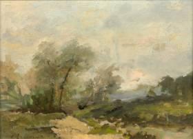 Albert Lebourg, paysage, tableau