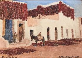 Alexandre Roubtzoff, Dar Chabane, tableau