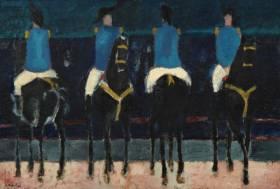 André Brasilier, cirque romain, tableau