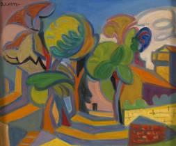André Lhote, paysage, tableau