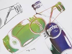Andy Warhol, Perrier, estampe