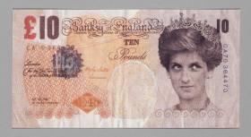 Banksy, faux billet de 10 Pound, vente aux enchères
