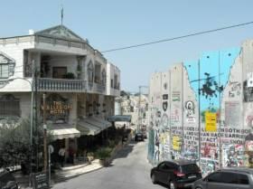 Dans l'hôtel Walled Off de Banksy à Bethlehem