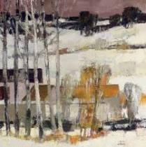 Bernard Cathelin, un peintre apprécié au Japon