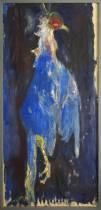 Bernard Lorjou, le coq, tableau