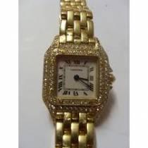 Cartier, montre panthère acier