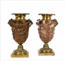 Christofle, vase, objet d'art