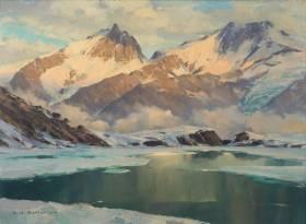 Charles Contencin, une cote vers les cimes montagneuses