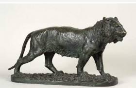 Christophe Fratin, tigre, sculpture