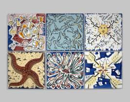 Dali, carreaux de céramique