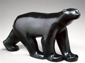 François Pompon ours, bronze