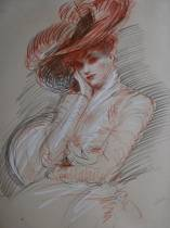 Paul-César Helleu, portrait d'Alice
