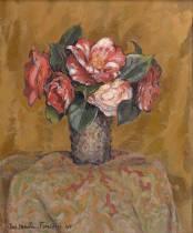 Jac Martin Ferrieres, bouquet, tableau