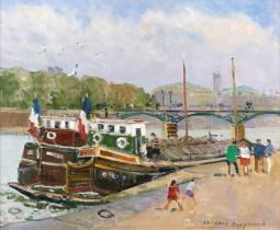 Jacques Bouyssou, Paris, tableau