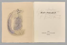 Jean Fautrier, L'enragé, ouvrage
