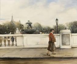Jean-Jacques René, promenade sur le pont
