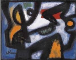 Jean-Michel Atlan, composition, 1956