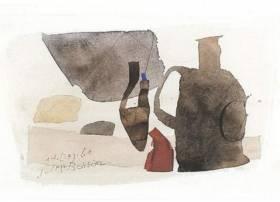 Julius Bissier, composition