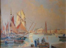 Robert Laroche, Sable d'Olonne, tableau