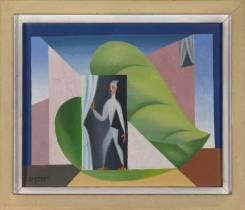Leopold Survage, composition surréaliste