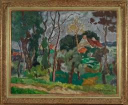 Lucien Martial, Paysage, tableau