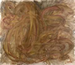 Jean Messagier, composition, tableau