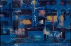 Alfred Manessier, composition, gouache et aquarelle