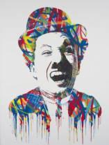Mister Brainwash, Chaplin, vente aux enchères