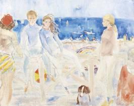 Lucien-Philippe Moretti, sur la plage