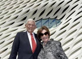 Eli et Edythe Broad collectionneurs ouvre leur musée