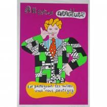Niki de Saint Phalle, Attention dragueurs, sérigraphie