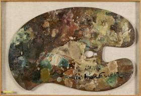 Othon Friesz, palette de l'artiste