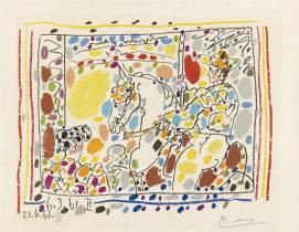 Picasso, Picador II, vente aux enchères