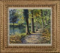 Paul Emile Pissarro, chemin du bord de l'eau