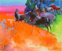 Paul Guiramand, peintre figuratif, proche de l'abstraction
