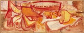 Pierre Tal Coat, composition, tableau
