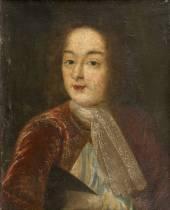 Ecole française du 17ème, portrait de jeune homme, tableau