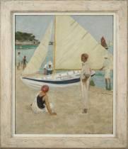 Raoul du Gardier, Noirmoutiers, à la plage