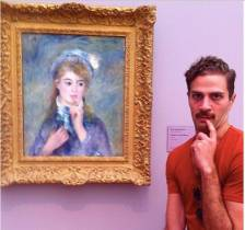 Rebellion contre Auguste Renoir à Boston