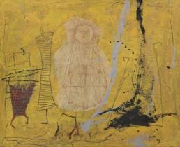 Richard Texier, méthode jaune, tableau