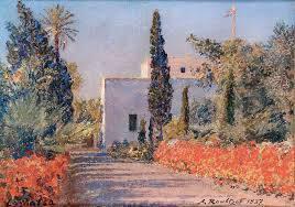 Alexandre Roubtzoff, peintre orientaliste russe