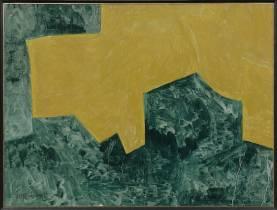 Serge Poliakoff, composition, gouache