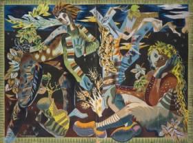 Théo Tobiasse, personnages dans un paysage animé