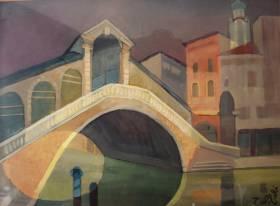Louis Toffoli, Venise, gouache