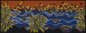 Jean Lurçat, Le Rouge et le bleu, tapisserie