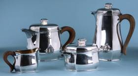 Tétard Frères, service thé et café en argent