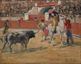 Henri Zo, Tauromachie, tableau