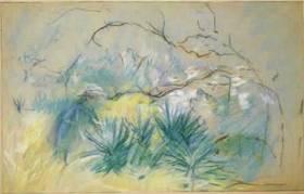 Berthe Morisot, le jardin à Cimiez
